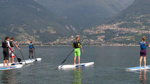 Stand Up Paddle-Lac de Côme-Stand up paddle safari in Colico, Lake Como-3