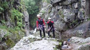 Canyoning-Cevennes National Park-Initiation Canyon of Tapoul in Lozère-2