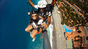 Paragliding-Messina-Tandem paragliding flight in Messina, Sicily-2