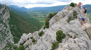 Via Ferrata-Pyrénées Orientales-Panoramic Via Ferrata of Saint Paul de Fenouillet-3
