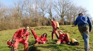 Spéléologie-Ariege-Aventure Spéléologie sur 2 jours en Ariège avec bivouac souterrain-4