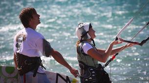 Kitesurfing-Porto Pollo-Kitesurfing test course in Porto Pollo, Sardinia-2