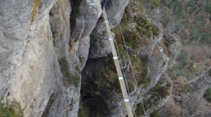 Via Ferrata-Gorges du Tarn-Via ferrata de Liaucous near Millau, Aveyron-3