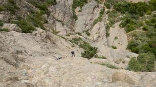 Escalade-Bagnères-de-Luchon-Initiation à l'Escalade sur le Rocher Ecole de Saint-Mamet-4