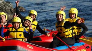 Rafting-Hardangervidda National Park-Rafting down the Numedalslågen in Norway-5