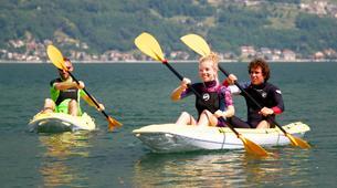 Canoë-kayak-Lac de Côme-Kayaking excursion in Colico, Lake Como-2