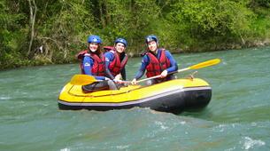 Rafting-Pau-Descente en Rafting du Gave de Pau entre Lourdes et Lestelle-Bétharram-3