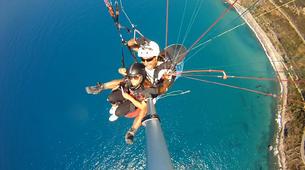 Paragliding-Agrigento-Tandem paragliding flight in Agrigento, Sicily-6