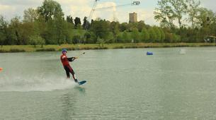 Wakeboarding-Lake Magne-Private wakeboarding cable hire near Poitiers-1