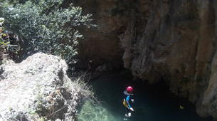 Canyoning-Grenade, Andalousie-Canyoning at Rio Verde in the Sierra Nevada-6