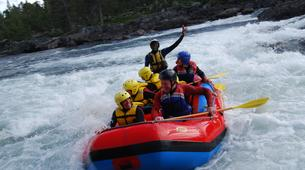 Rafting-Hardangervidda National Park-Rafting down the Numedalslågen in Norway-2