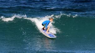 Surfing-Saint Martin-Surfing courses and lessons at Galion beach, St Martin-6