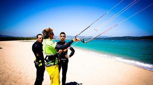 Kitesurfing-Porto Pollo-Kitesurfing test course in Porto Pollo, Sardinia-1