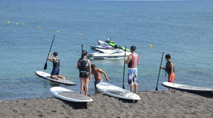 Stand up Paddle-Santorini-Stand Up Paddle rental on Perivolos Beach, Santorini-6