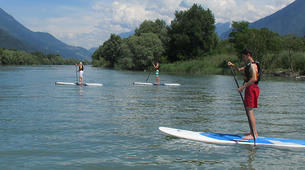 Stand Up Paddle-Lac de Côme-Stand up paddle safari in Colico, Lake Como-1