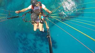 Paragliding-Kefalonia-Tandem paragliding flight over Kefalonia-1