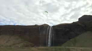 Paragliding-Vik i Myrdal-Tandem paragliding flight over Vik i Myrdal, Iceland-4