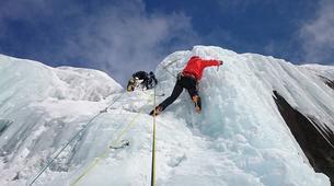 Ice Climbing-Chamonix Mont-Blanc-Ice Climbing in Chamonix Valley with experienced Guide, Johann-2