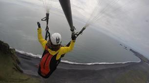 Paragliding-Vik i Myrdal-Tandem paragliding flight over Vik i Myrdal, Iceland-6