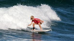Surfing-Saint Martin-Surfing courses and lessons at Galion beach, St Martin-3