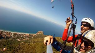 Paragliding-Agrigento-Tandem paragliding flight in Agrigento, Sicily-5