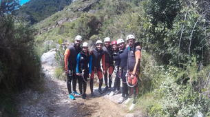 Canyoning-Grenade, Andalousie-Canyoning at Rio Verde in the Sierra Nevada-2