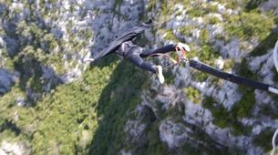 Bungee Jumping-Verdon Gorge-Bungee Jumping from Artuby bridge (182m), in Verdon-2