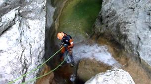 Canyoning-Bagnères-de-Luchon-Canyon du Gouffre d'Enfer près de Bagnère-de-Luchon-6