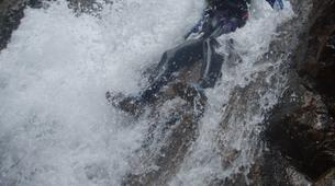 Canyoning-Cevennes National Park-Initiation Canyon of Tapoul in Lozère-5