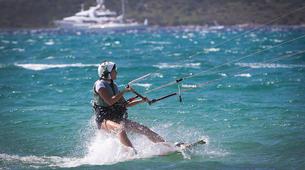 Kitesurfing-Porto Pollo-Kitesurfing test course in Porto Pollo, Sardinia-3