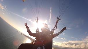 Paragliding-Vik i Myrdal-Tandem paragliding flight over Vik i Myrdal, Iceland-12