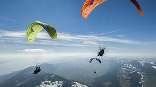 Parapente-Palerme-Tandem paragliding flight in Palermo, Sicily-4