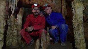 Spéléologie-Ariege-Aventure Spéléologie sur 2 jours en Ariège avec bivouac souterrain-7