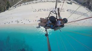 Paragliding-Kefalonia-Tandem paragliding flight over Kefalonia-3