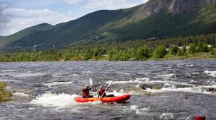 Rafting-Hardangervidda National Park-Duckies down the Numedalslågen in Norway-4