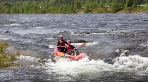 Rafting-Hardangervidda National Park-Duckies down the Numedalslågen in Norway-1