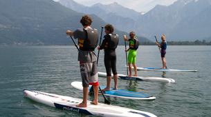 Stand Up Paddle-Lac de Côme-Stand up paddle safari in Colico, Lake Como-6
