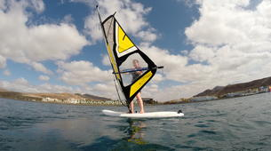 Windsurfing-Costa Calma, Fuerteventura-Windsurfing lessons and courses in Matas Blancas, near Costa Calma-3
