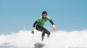Surfing-Caleta de Famara, Lanzarote-Surfing courses in Caleta de Famara, Lanzarote-1