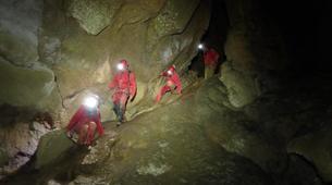 Spéléologie-Ariege-Aventure Spéléologie sur 2 jours en Ariège avec bivouac souterrain-6