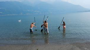 Stand Up Paddle-Lac de Côme-Stand up paddle safari in Colico, Lake Como-4