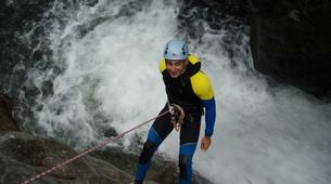 Canyoning-Cevennes National Park-Initiation Canyon of Tapoul in Lozère-1