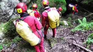 Spéléologie-Ariege-Aventure Spéléologie sur 2 jours en Ariège avec bivouac souterrain-5