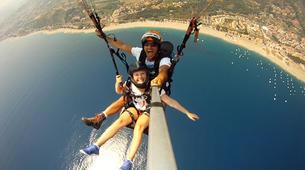 Paragliding-Agrigento-Tandem paragliding flight in Agrigento, Sicily-2