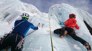Ice Climbing-Chamonix Mont-Blanc-Ice Climbing in Chamonix Valley with experienced Guide, Johann-3