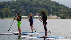 Stand Up Paddle-Lac de Côme-Stand up paddle safari in Colico, Lake Como-5