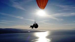 Paragliding-Kefalonia-Tandem paragliding flight over Kefalonia-5