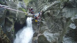 Canyoning-Cevennes National Park-Initiation Canyon of Tapoul in Lozère-3