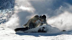 Ski touring-Chamonix Mont-Blanc-Freeride Snowboarding Sessions in Chamonix with Johann-3