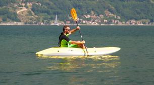 Canoë-kayak-Lac de Côme-Kayaking excursion in Colico, Lake Como-4